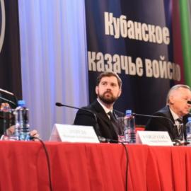 Игорь Баринов выступил с основным докладом на Совете при Президенте по делам казачества