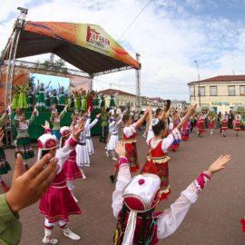 В Улан-Удэ состоялся праздник этнических культур народов Бурятии