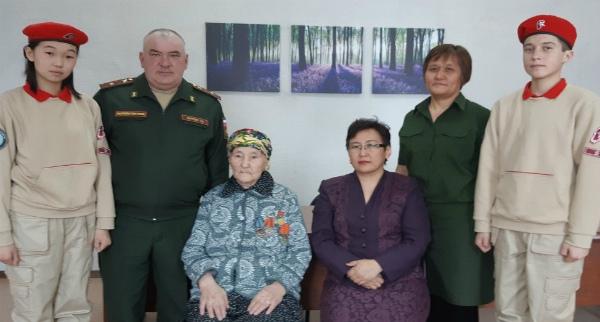 Труженица тыла из Бурятии стала героиней проекта «Дорога памяти»