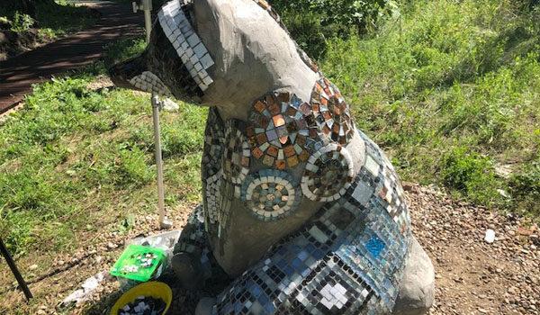 В Ангарске создают мозаика-парк «Сказки Байкала»