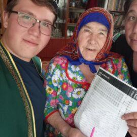 Тэгдинские татары Бурятии впервые написали Татарча диктант