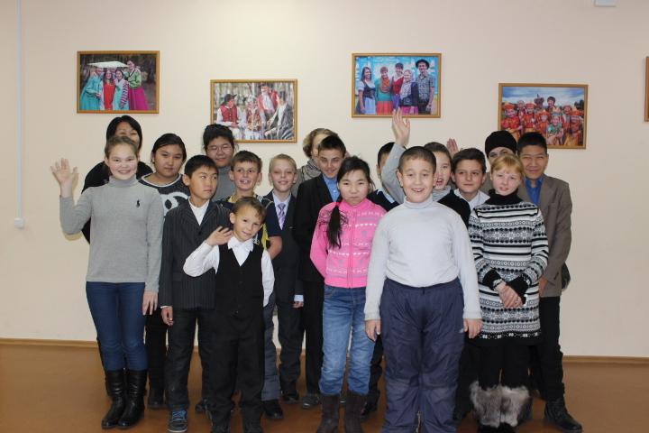 В гостях у Дома Дружбы учащиеся СКОШИ №II детского дома-интерната пос. Комушка