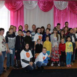 Студенческий педагогический отряд ВСГИК «Горячее сердце» побывал в гостях у ребят Тарбагатайской СКОШИ VIII вида