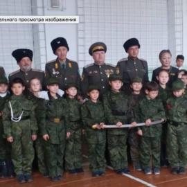 Еще два казачьих класса открыто в школах Бурятии
