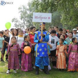 На «Хилокских играх» жители Бурятии соревновались в национальных костюмах
